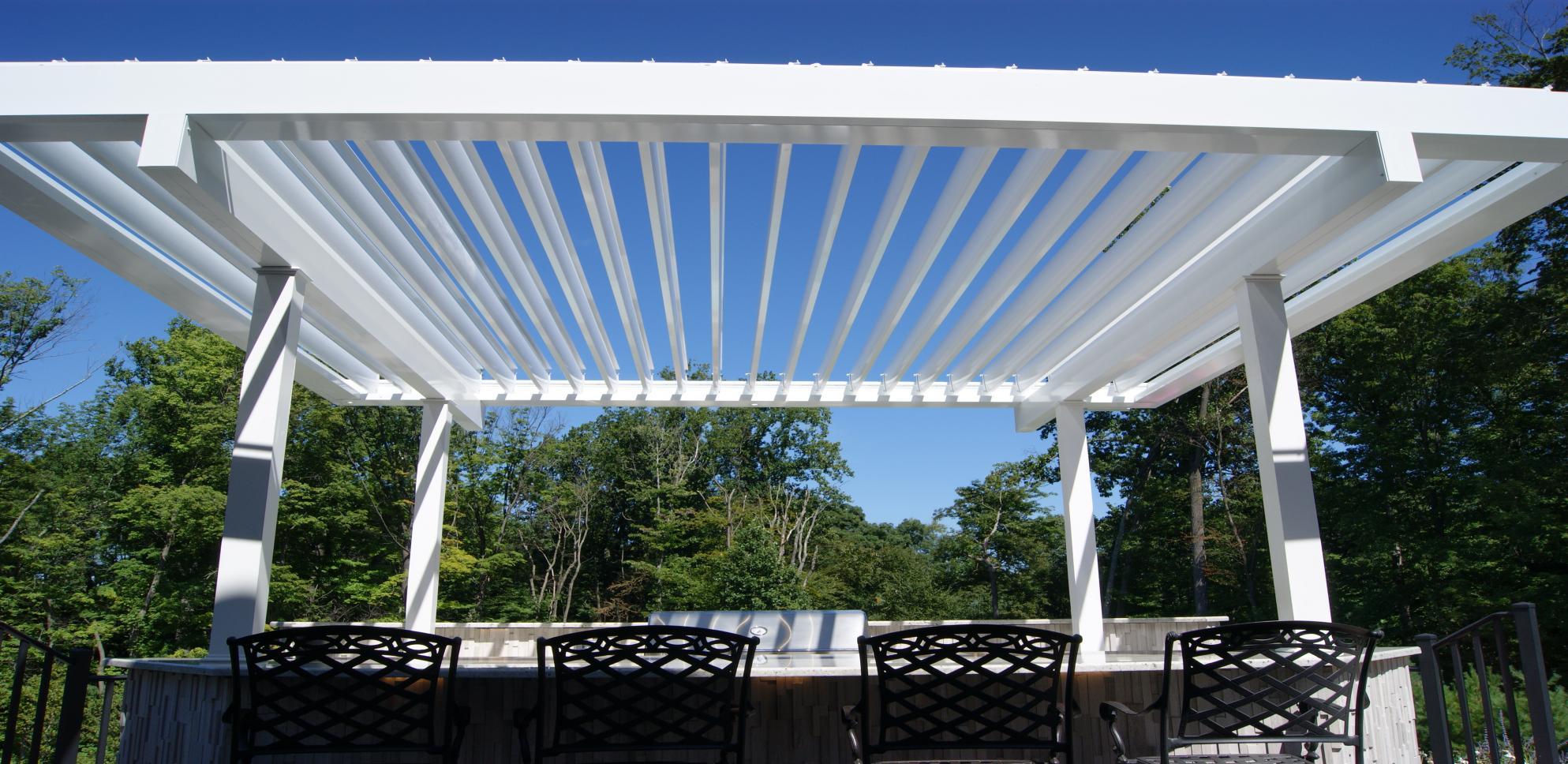 Louvered Roof System Designed To Transform Any Outdoor